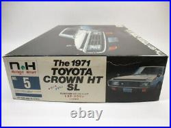 DOYUSHA TOYOTA CROWN HT SL THE 1971 1/24 Model Kit #15003