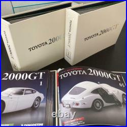 DeAGOSTINI TOYOTA 2000GT Grand Tourer 1/10 Scale assembled From Japan