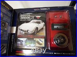 DeaGOSTINI TOYOTA GT2000 1/10 car Model kit DIY vol. 1- 65 complete set DIY