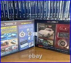 Deagostini Toyota 2000GT 1-65 Vol. Complete 1/10 scale Diecast (No emblem) Rare