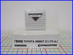 Deagostini Toyota 2000GT 1-65 Volume Complete set 1/10 scale Diecast model Rare