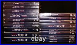 Deagostini Weekly Toyota 2000GT All 65 Volumes 1/10 Scale model car kit Japan
