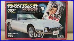 Doyusha 1/20 TOYOTA 2000GT 007 James Bond Model Kit