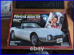 Doyusha 120 Scale Kit James Bond's Toyota 2000GT. Pristine. Collector's Item
