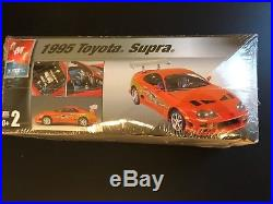 ERTL The Fast and the Furious 1995 Toyota Supra scale 125 model kit level 2