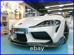 FR design carbon fiber full spoiler kit fit for Toyota 2020+ SUPRA GR A90