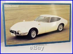FUJIMI 1/16 Enthusiast Model Toyota 2000GT Coupe (RARE, Vintage kit) EM/Otaki