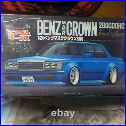 FUJIMI Mercedes TOYOTA CROWN 2800DOHC Royal Salloon 1/24 Model Kit #14327