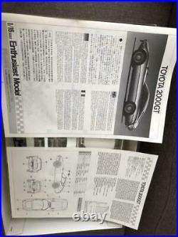 FUJIMI TOYOTA 2000GT Enthusiast Model 1/16 Model Kit #14323