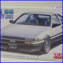 FUJIMI TOYOTA AE 86 Trueno 3door 1/24 Model Kit #14362
