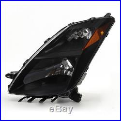 For 04-06 Prius (Halogen Models) Black Replacement Headlights + Xenon HID Kit