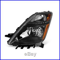 For 06-09 Prius (Halogen Models) Black Replacement Headlights + Xenon HID Kit