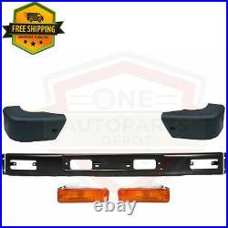For 1984-89 Toyota 4Runner / 84-1988 Pickup 4wd Front Bumper Kit + Signal Lights