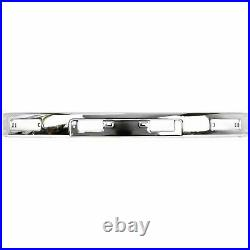 Front BUMPER Chrome + End Caps For 1984-1987 4Runner & Pickup 4WD