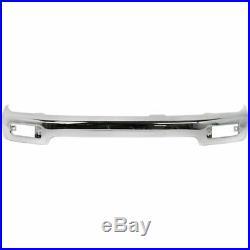 Front Bumper Chrome Steel Primed Valance For 96-98 Toyota 4Runner Limited Models