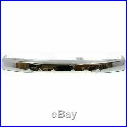 Front Bumper Chrome Steel + Valance + Filler For 99-02 Toyota 4RUNNER Base /SR5