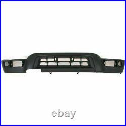 Front Bumper Chrome+filler+valance Primed for 1999-2002 Toyota 4Runner Base SR5