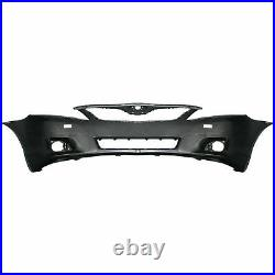 Front Bumper Cover + Grille + Fog Light Assembly For 2010-2011 Toyota Camry