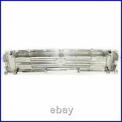 Front Bumper + Grille Chrome + Valance + Lamps For 1992-1995 Toyota Pickup 4WD