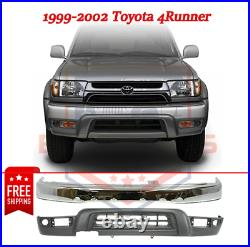 Front Bumper & Lower Panel Kit for 1999-2002 Toyota 4Runner Base & SR5 Models
