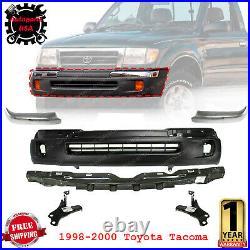 Front Bumper Primed Trim End Rebar Brackets 6Pcs Kit For 1998-2000 Toyota Tacoma