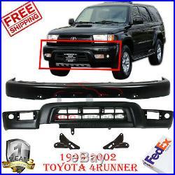 Front Bumper Primed + Valance + Bracket For 1999-2002 Toyota 4Runner