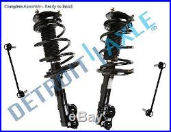 Front Strut & Sway Bar Link Kit for 2012 2013 2014 Toyota Camry No SE Models