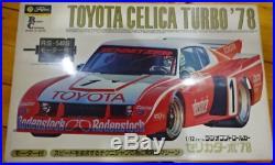 Fujimi 1/12 RC Toyota Celica Turbo'78 RS-540S Motor Model Kit from Japan F/S