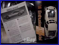 Fujimi 1/16 Model Kit TOYOTA 2000GT Vintage Super Rare JDM