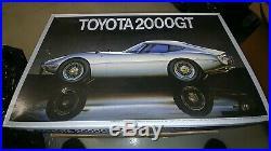 Fujimi 1/16 Scale Toyota 2000GT Vintage Model Car Kit NIB Factory Sealed Bags