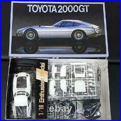 Fujimi TOYOTA 2000GT Enthusiast 1/16 Model Kit #14302