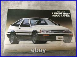 Fujimi TOYOTA LEVIN AE86 3door 1600GT APEX 1/24 Model Kit #14292