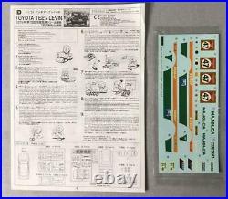 Fujimi TOYOTA LEVIN TE27 Rully MAJOLCA Trial 1/24 Model Kit #16066