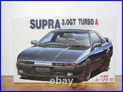 Fujimi Toyota Supra'87 3.0 GT Turbo A Inch Up Series 25 1/24 Model Kit #14073
