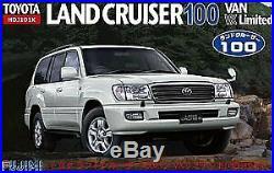 Fujimi model 1/24 inch up series ID132 Toyota Land Cruiser 100 VAN 2002