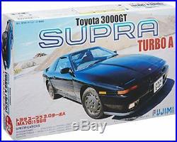 Fujimi model 1/24 inch up series No. 25 Toyota Supra 3.0 Turbo A 1987 Model Car I