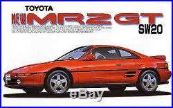 Fujimi model 1/24 inch up series No. 40 Toyota SW20 MR2'93