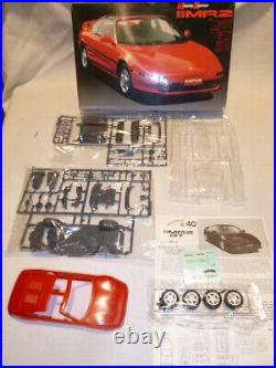 Fujimi un opened un built plastic kit of a Toyota MR2 GT
