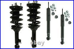 Full Set 2 Complete Struts 2 Shocks Fit Toyota Tacoma Base Model 2.7L RWD Only
