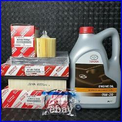 Genuine Lexus Is300 Hybrid Service Kit 2013 To 2018 Model 0w20 Oil & All Filter