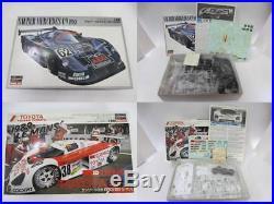 Hasegawa 1/24 Scale Unassembled Car Model Kit 8 Items Set Mazda, Toyota etc H92