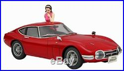 Hasegawa Toyota 2000GT w / Girls Figure 1/24 Plastic model SP366