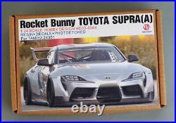 Hobby Design 1/24 Rocket Bunny Toyota Supra A Detail Set for Tamiya kits #24351