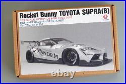 Hobby Design 1/24 Rocket Bunny Toyota Supra B Detail Set for Tamiya kits #24351