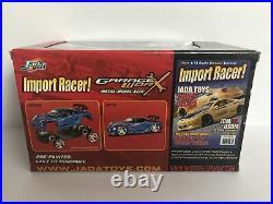 Jada Import Racer Garage Worx Toyota MR-2 Spyder 1/24 Blue New Metal Model Kit