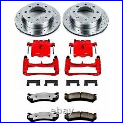 KC1232-36 Powerstop Brake Disc and Caliper Kits 2-Wheel Set Front for Tacoma