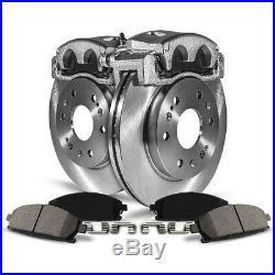 KCOE5863 Powerstop 2-Wheel Set Brake Disc and Caliper Kits Front for Yaris iQ 13