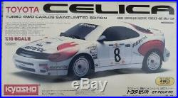 Kyosho 1/10 RC Toyota Celica 4WD Carlos Sainz Limited Edition Model Kit Japan