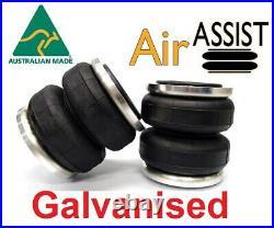 LA101 Galvanised Air Bag Load Assist Kit for 4WD Toyota Hilux 2015 2021 model