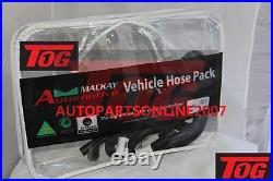 MACKAY HOSE KIT CHVP37 for TOYOTA HILUX KZN165R 99-2005 3.0L TURBO DIESEL MODEL